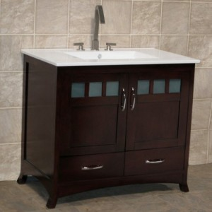 Ceramic Top and Furniture Style Vanity
